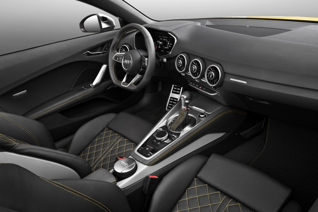 Audi TTS Roadster 2015 interior 02