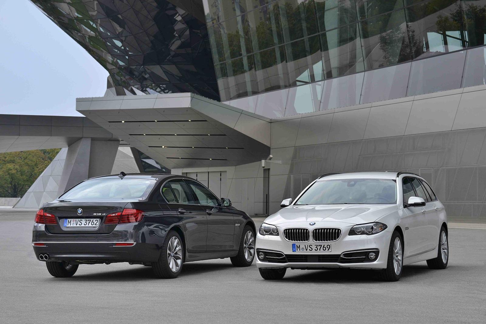 BMW 518D 520D 2014 03