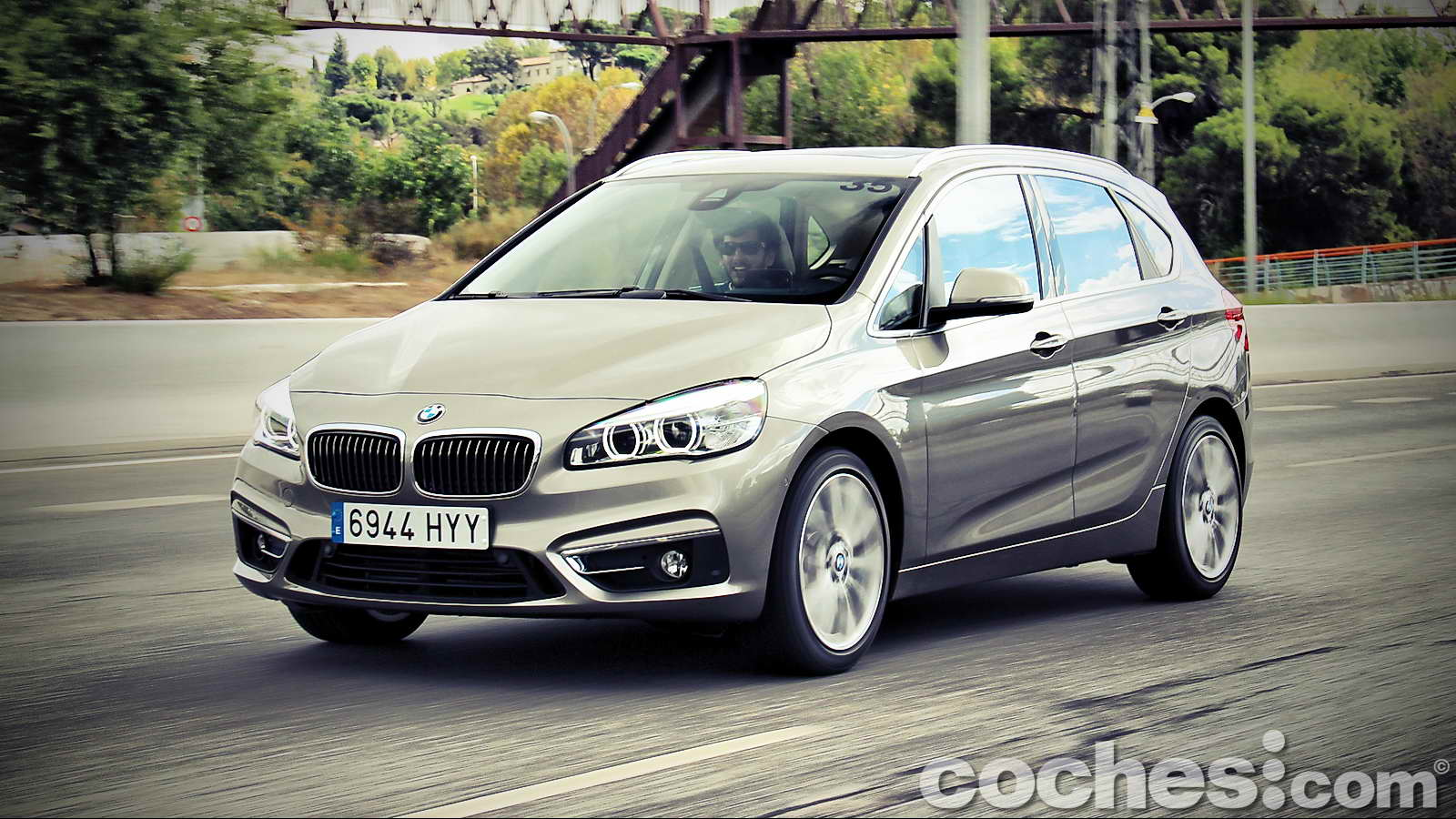 bmw serie 2 active tourer 218i prueba contacto. Black Bedroom Furniture Sets. Home Design Ideas