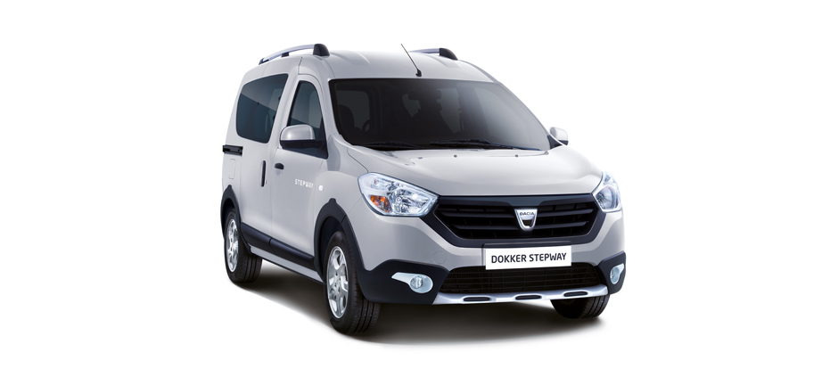 dacia dokker stepway o cuando hasta las furgonetas quieren ser suv. Black Bedroom Furniture Sets. Home Design Ideas