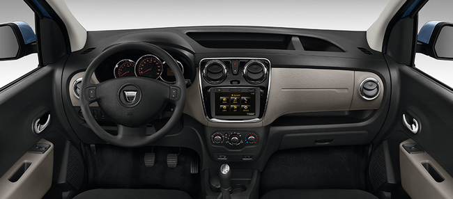 Dacia Dokker Stepway 2014 interior 02