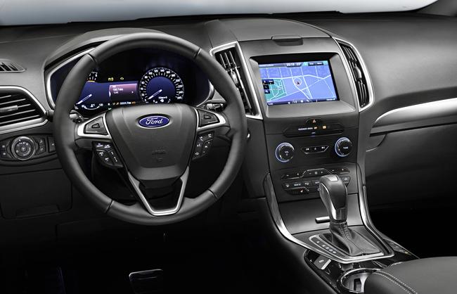 Ford S-MAX 2015 interior 01