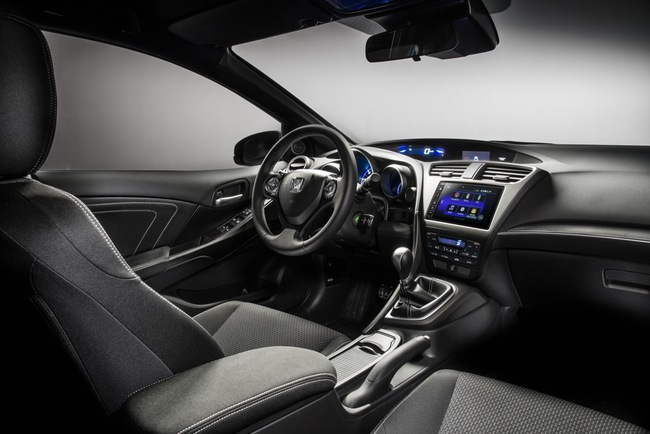 Honda Civic Sport 2015 interior 01