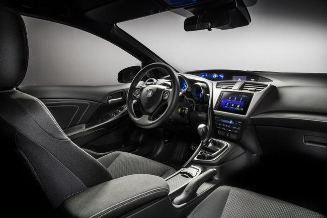 Honda Civic Sport 2015 interior 01