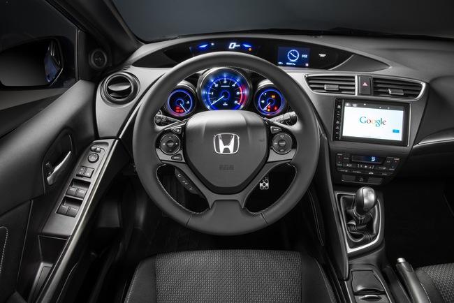 Honda Civic Sport 2015 interior 02