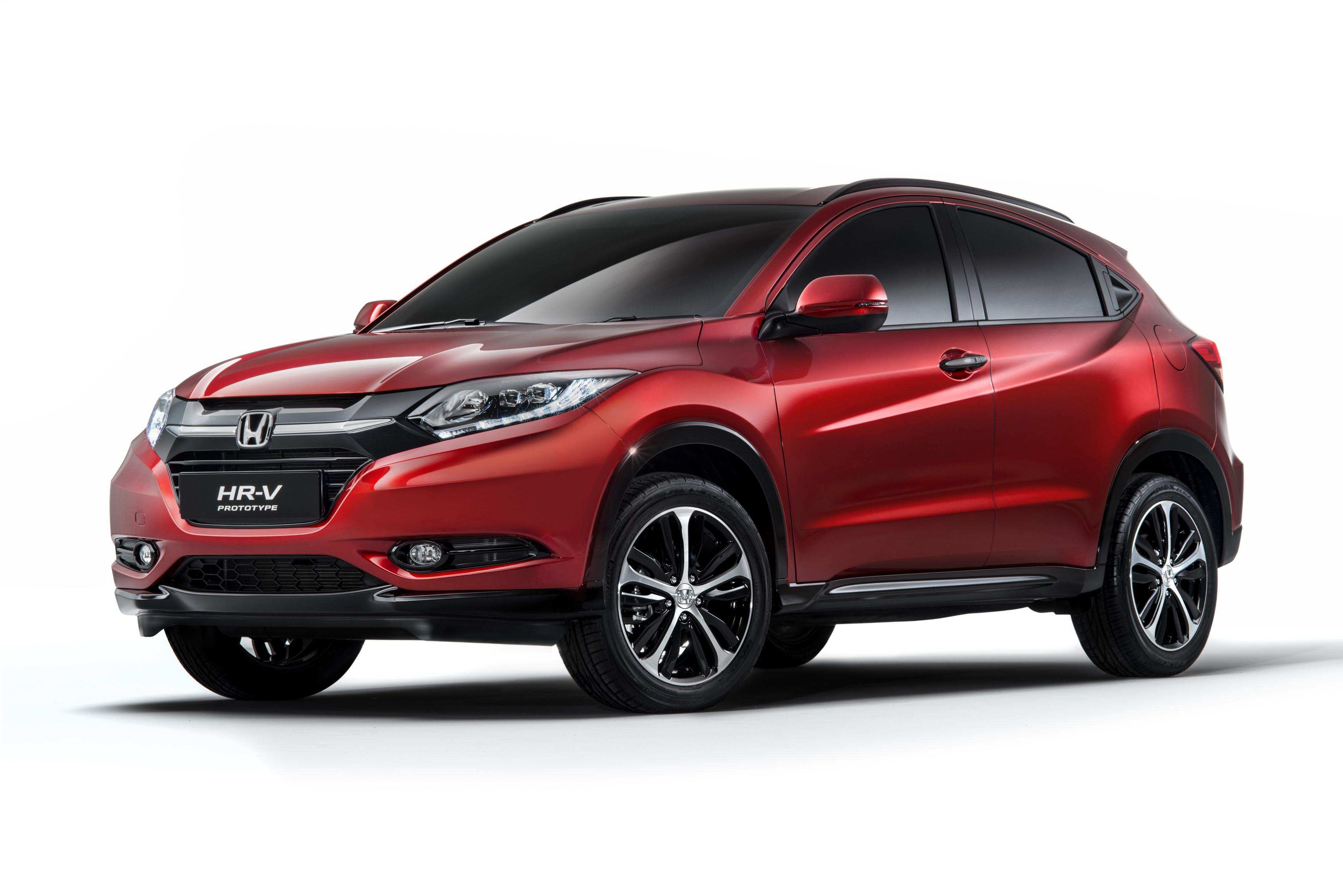 Honda HR-V Prototype 2014 01