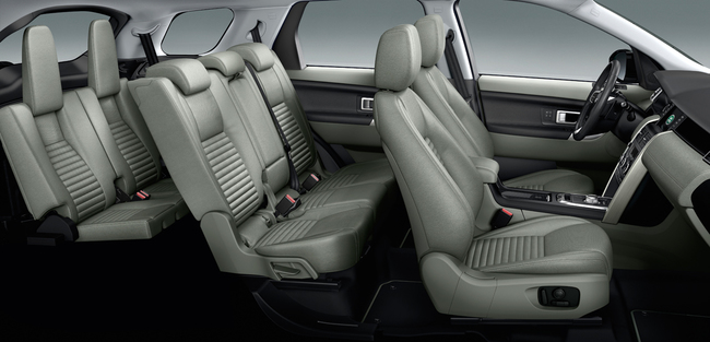 Land Rover Discovery Sport 2015 interior 04