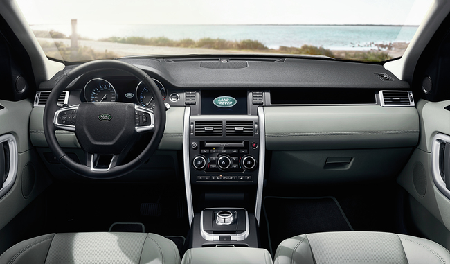 Land Rover Discovery Sport 2015 interior 10