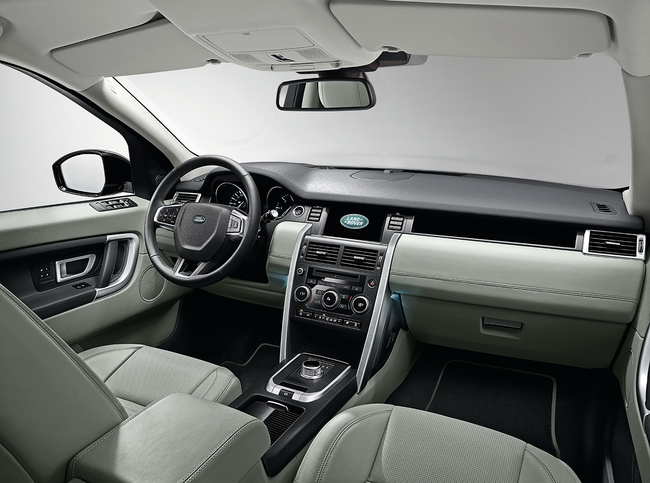 Land Rover Discovery Sport 2015 interior 12