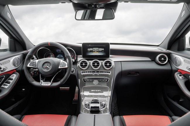 Mercedes-AMG C63 2015 interior 01