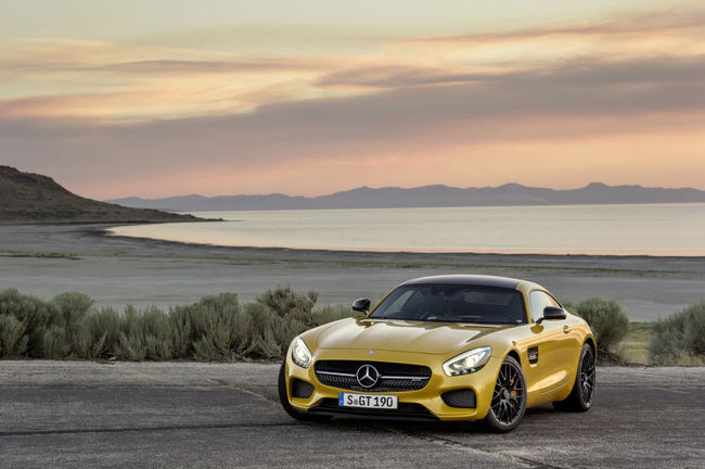 Mercedes AMG GT 2015 07