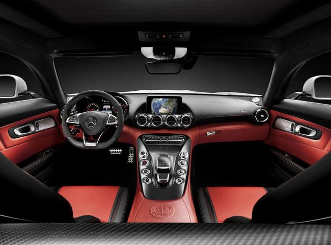 Mercedes AMG GT 2015 interior 02