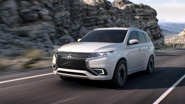 Mitsubishi Outlander PHEV Concept-S 2014 03