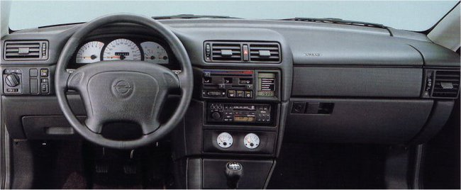 Opel calibra 1989 interior