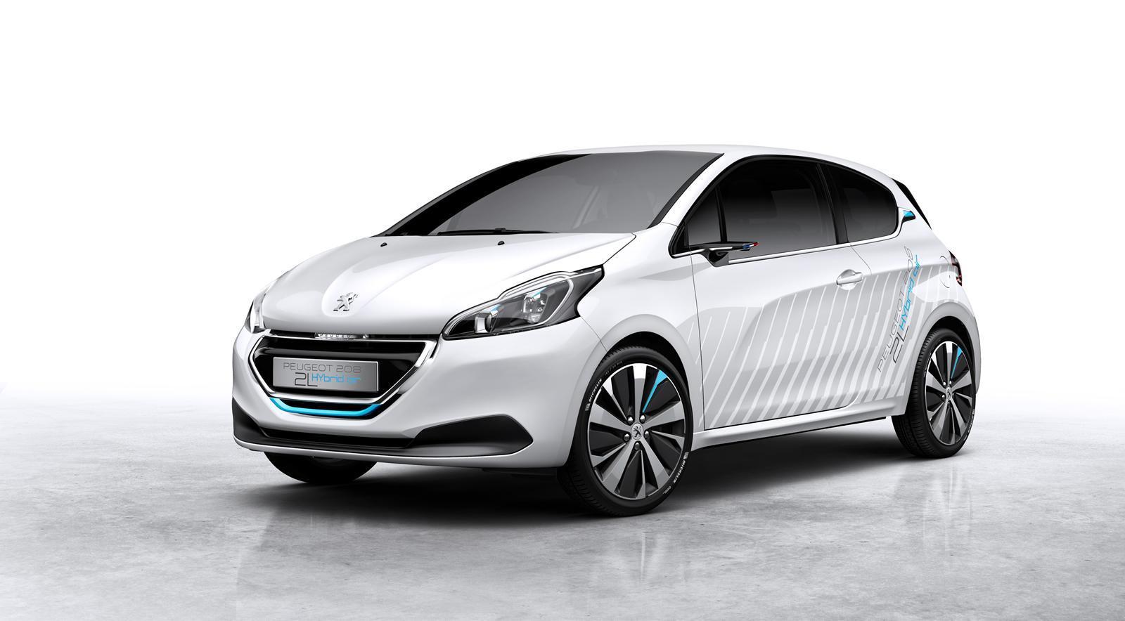 Peugeot 208 Hybrid Air 2L Concept 2014 01