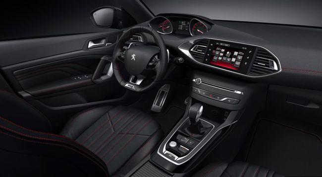 Peugeot 308 GT y Peugeot 308 SW GT interior 27