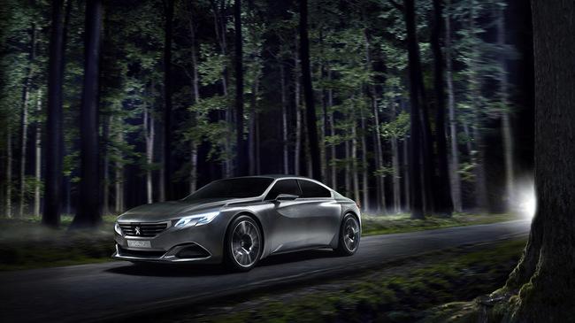 Peugeot Exalt Concept Paris 2014 01