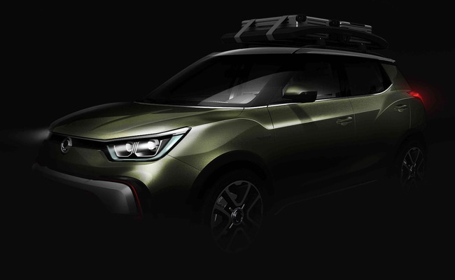 SsangYong XIV Adventure Concept 2014 01 Paris