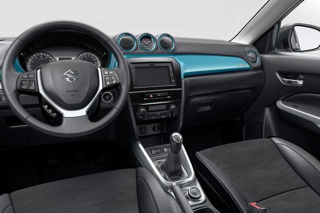 Suzuki VItara 2015 interior 03