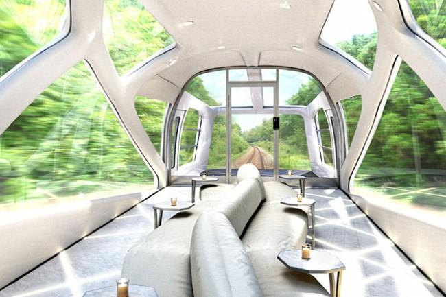 cruisetrain 5 650x433 El tren de lujo japonés del diseñador de Ferrari