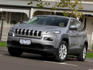 Jeep Cherokee Sport Australia 2014