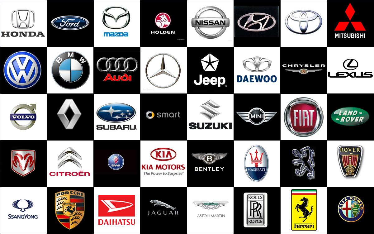 las marcas de los coches: