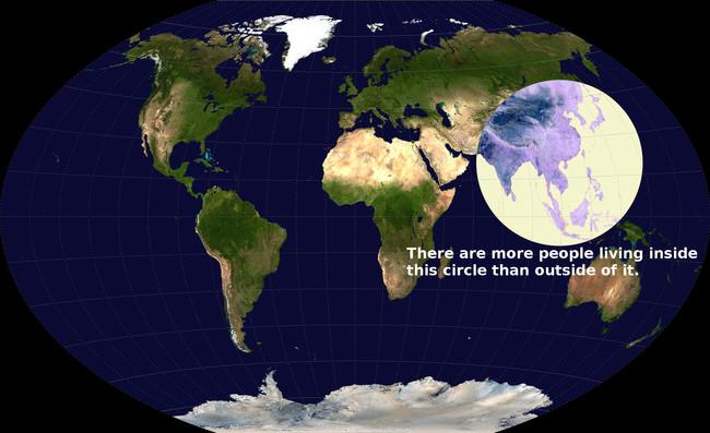 mitad poblacion mundial