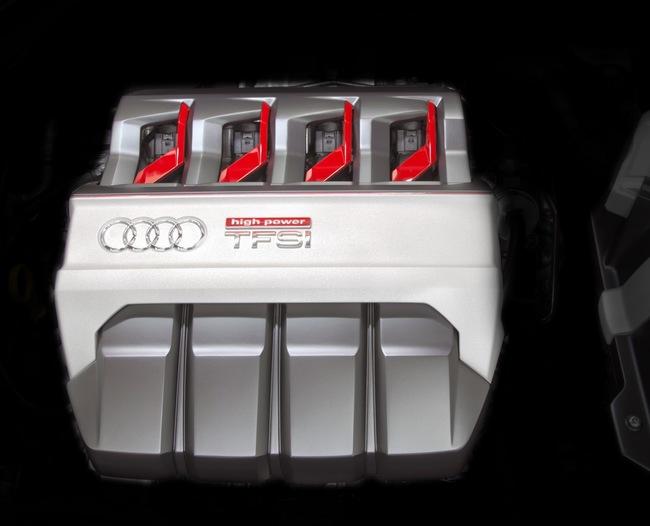 Audi TT Sportback Concept 2014 motor
