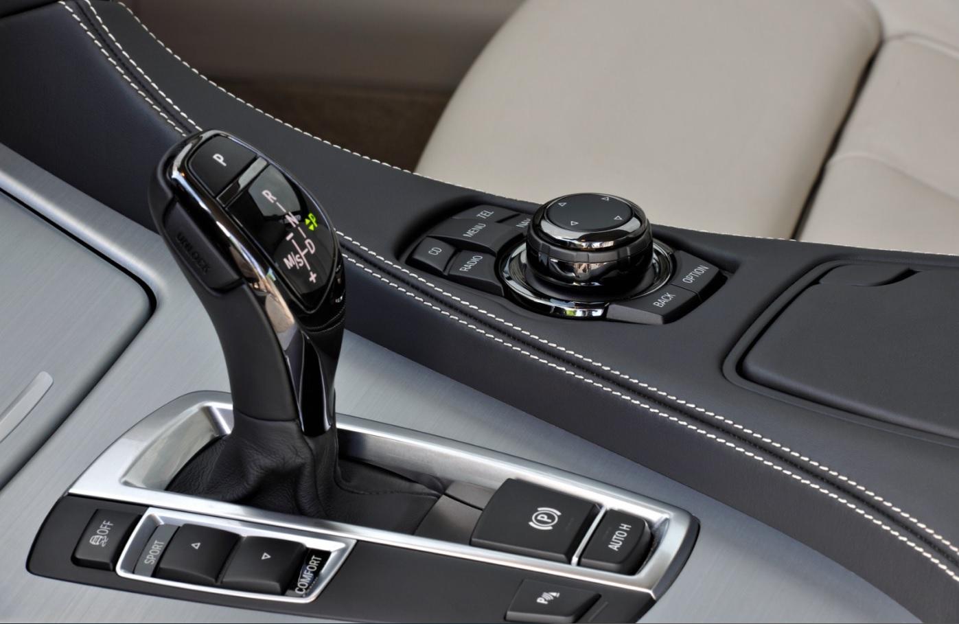 BMW Coupé interior