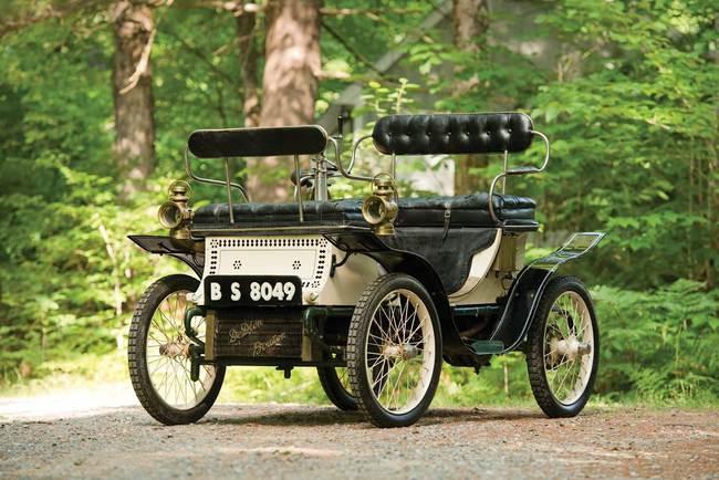 D - 1900 De-Dion Bouton Vis-a-Vis