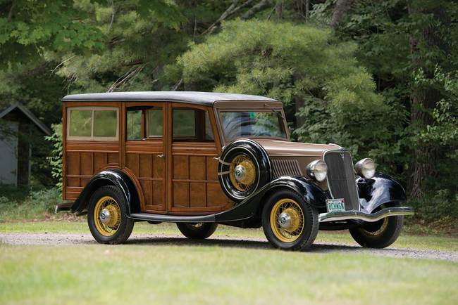 "F - 1933 Ford V-8 ""Woody"" Station Wagon"