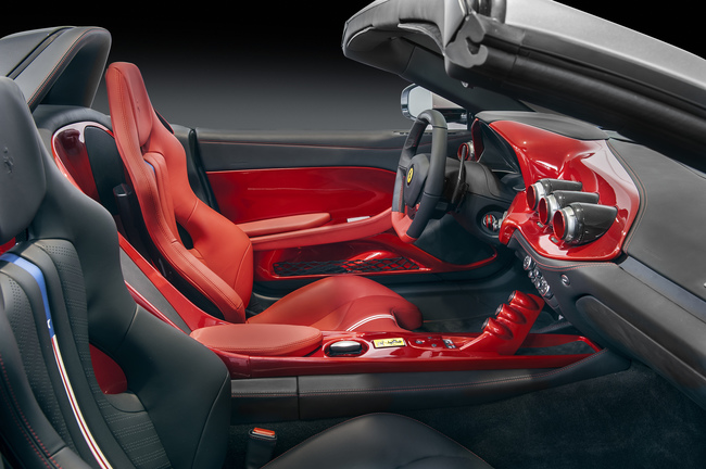 Ferrari F60 America 2014 interior 01