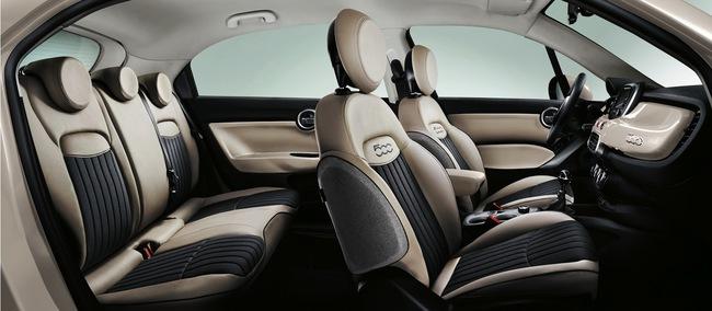 Fiat 500X 2015 interior 03