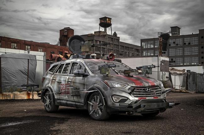 Hyundai Santa Fe Zombie Survival