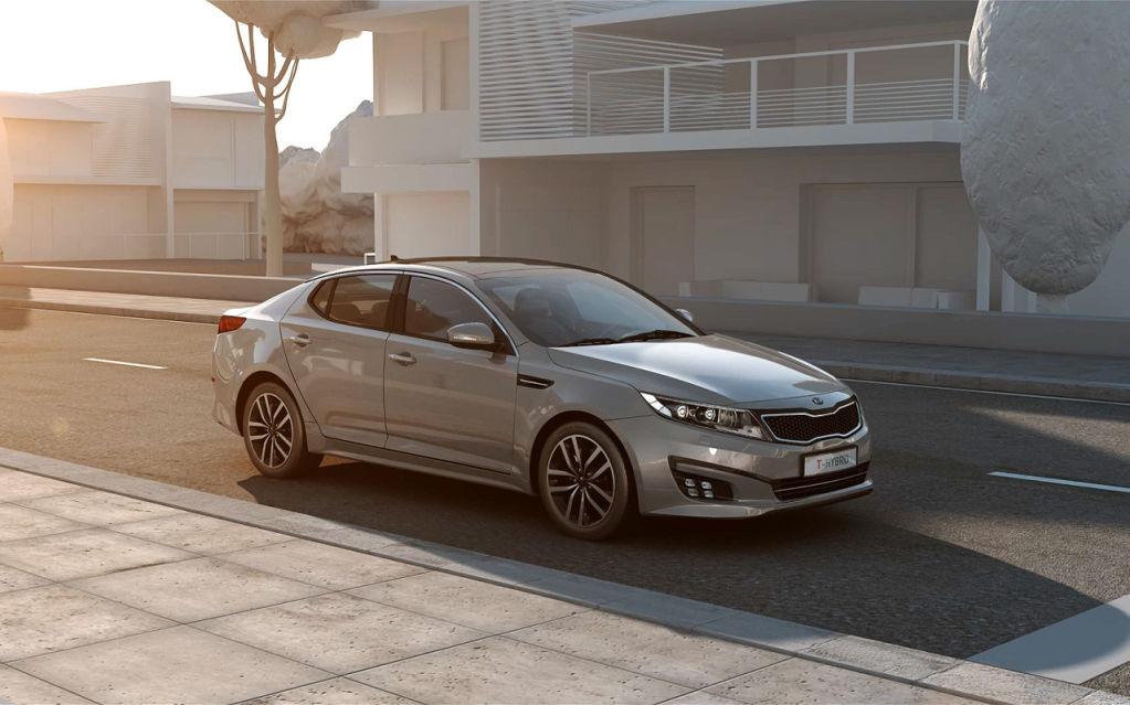 Kia Optima T-Hybrid Concept 2014 01
