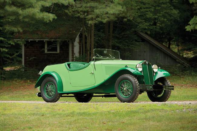 L - 1934 Lancia Augusta Special Tourer by March