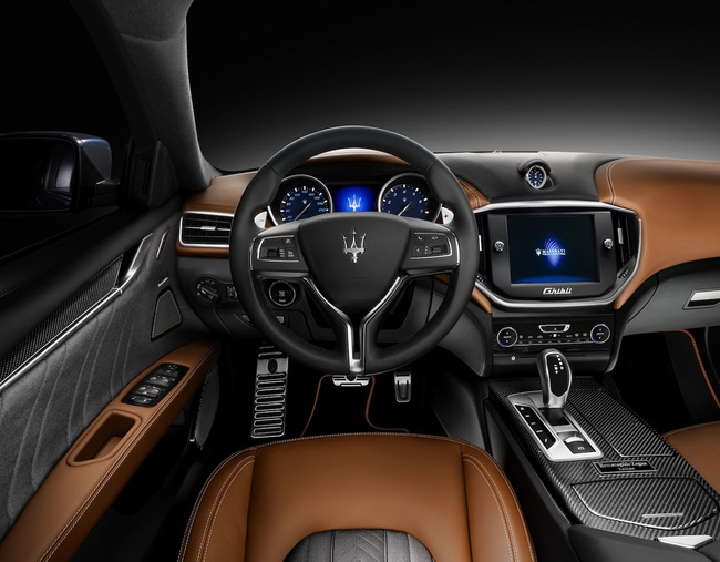 Maserati Ghibli Ermenegildo Zegna Edition Concept 2014 interior 01