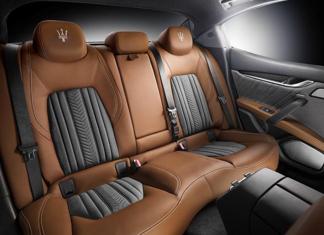 Maserati Ghibli Ermenegildo Zegna Edition Concept 2014 interior 08