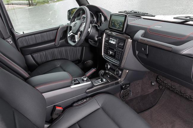 Mercedes-Benz Clase G Edition 35 Aniversario 2014 interior 01