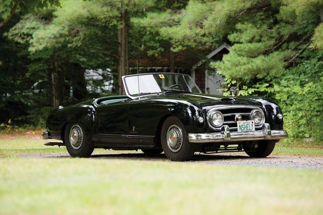 N - 1953 Nash-Healey Sports Roadster