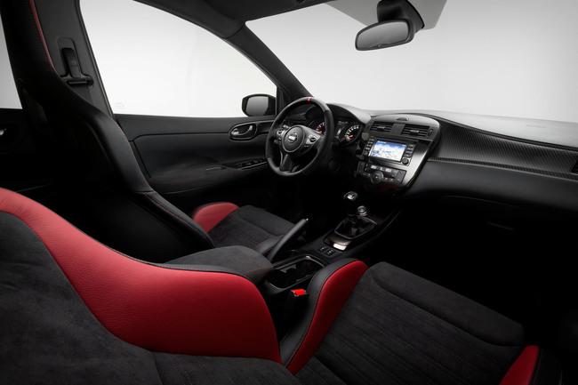 Nissan Pulsar Nismo Concept 2014 interior 01