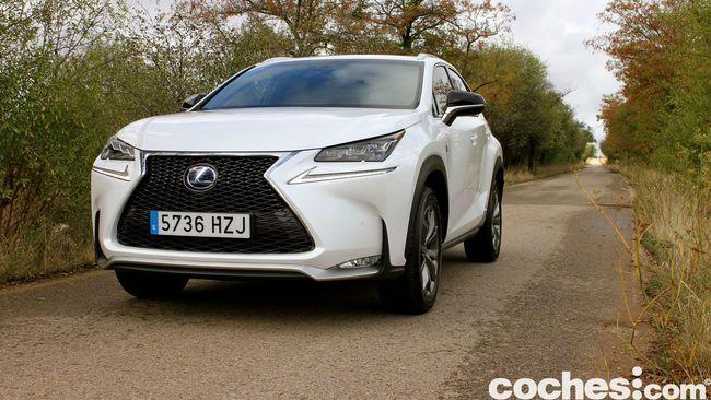 Prueba Lexus NX 300h 1