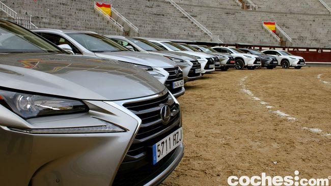 Prueba Lexus NX 300h 100