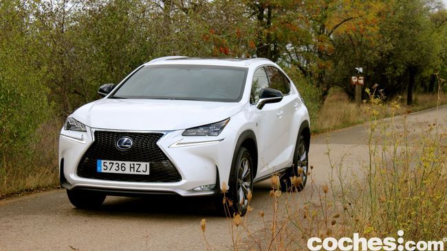 Prueba Lexus NX 300h 14