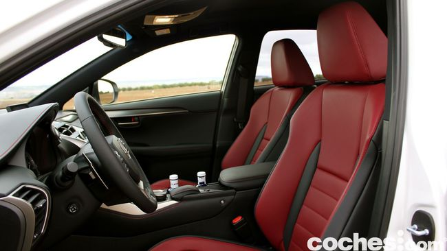 Prueba Lexus NX 300h 60