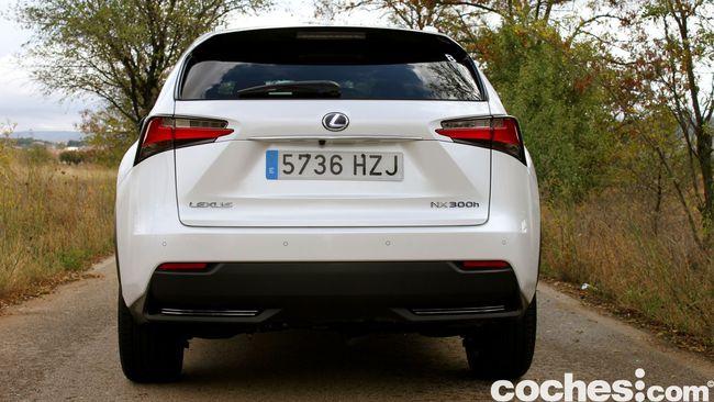 Prueba Lexus NX 300h 8