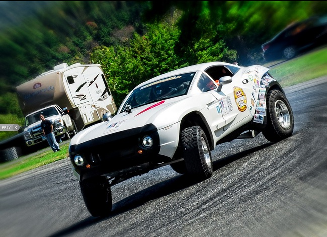Rally fighter local motors