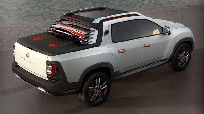 Renault Duster Oroch Concept 2014 04