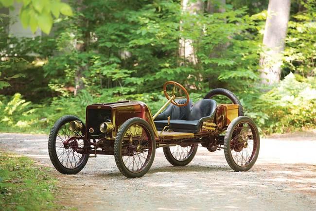S - 1913 Spacke Cyclecar Prototype