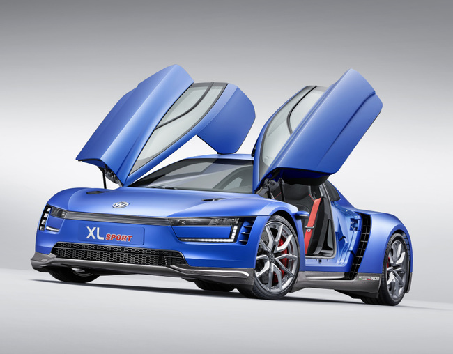 Volkswagen XL Sport Concept 2014 16